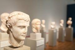 Sculture del busto nel museo Berlino di Altes Immagine Stock Libera da Diritti