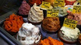 Sculture del grasso della carne di maiale Fotografie Stock Libere da Diritti