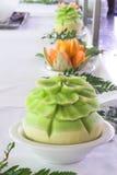 Sculture del melone Fotografie Stock
