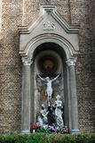 Sculture della chiesa dell'immacolata concezione di vergine Maria benedetto Fotografia Stock Libera da Diritti