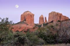 Sculture della luna di sud-ovest Fotografia Stock Libera da Diritti