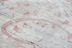 Sculture della roccia a Alta Fotografie Stock Libere da Diritti