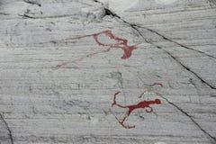 Sculture della roccia a Alta Fotografia Stock