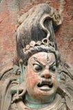 Sculture della roccia di Dazu, Cina Fotografie Stock Libere da Diritti