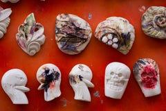 Sculture della sepiolite, immagini stock