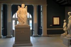 Sculture di Erastus Dow Palmer e colleghi su esposizione, istituto di storia ed arte, Albany, New York, 2016 Immagini Stock Libere da Diritti