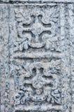 Sculture di pietra cristiane Immagini Stock