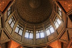 Sculture ornamentali artistiche orientali arabe Fotografia Stock Libera da Diritti