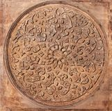 Sculture ornamentali artistiche orientali arabe Fotografia Stock
