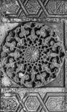 Sculture ornamentali orientali arabe Fotografia Stock