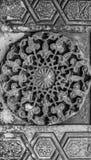Sculture ornamentali orientali arabe Fotografie Stock Libere da Diritti