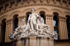 Sculture storiche, Sydney, Australia immagini stock