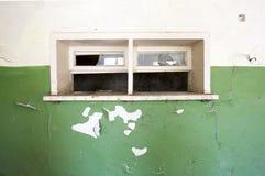 Scuola abbandonata Immagine Stock
