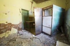 Scuola abbandonata Fotografie Stock