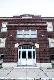 Scuola abbandonata fotografie stock libere da diritti