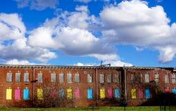 Scuola abbandonata Immagini Stock Libere da Diritti