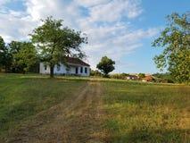 Scuola del villaggio Fotografia Stock