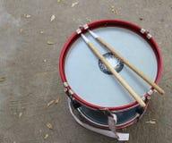 Scuola della banda del tamburo fotografie stock libere da diritti