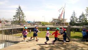Scuola di asilo di Fuji Immagine Stock