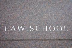 Scuola di diritto Fotografia Stock Libera da Diritti