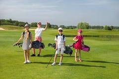 Scuola di golf Fotografie Stock Libere da Diritti