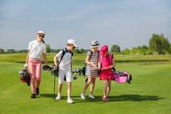 Scuola di golf Fotografie Stock
