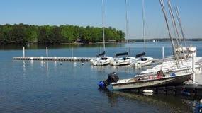 Scuola di navigazione al normanno del lago, Nord Carolina Immagini Stock