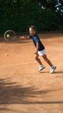 Scuola di tennis Fotografia Stock