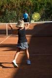 Scuola di tennis Immagine Stock