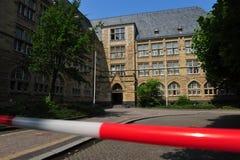 Scuola dopo amok il funzionamento Fotografie Stock