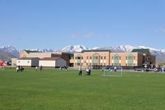 Scuola elementare nell'Utah Immagine Stock