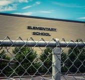 Scuola elementare tipica degli Stati Uniti Immagine Stock Libera da Diritti