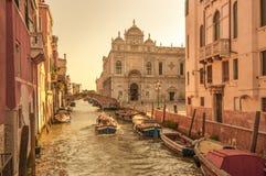 Scuola Grande di San Marco, Venezia, Italia Fotografie Stock Libere da Diritti