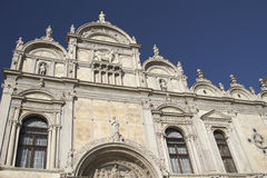 Scuola Grande di San Marco (Venice, Italy) Royalty Free Stock Photo