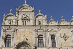 Scuola Grandioso di San Marco (Veneza, Italy) imagem de stock royalty free