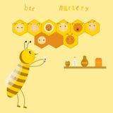 Scuola materna dell'ape Immagine Stock Libera da Diritti