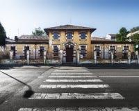 Scuola materna a Milano Fotografie Stock