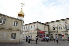 Scuola militare di Novocerkassk Suvorov del MIA della Russia Immagini Stock Libere da Diritti