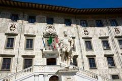 Scuola Normale av Pisa/ Royaltyfri Bild
