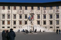 The Scuola Normale Superiore di Pisa -  Italy. Historical building of  The Scuola Normale Superiore di Pisa -  Italy Stock Photos