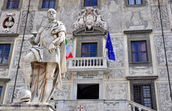 Scuola Normale Superiore in Pisa, Italy. The Scuola Normale Superiore in Pisa is a centre for teaching and research founded by Napoleon in 1810 as a branch of Royalty Free Stock Images