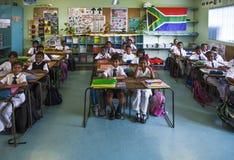 scuola primaria indiana Immagine Stock