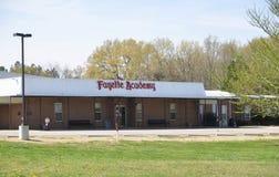 Scuola Somerville, TN dell'accademia di Fayette fotografia stock libera da diritti