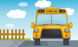Scuolabus illustrazione di stock