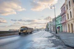 Scuolabus a Avana Fotografia Stock Libera da Diritti