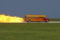 Scuolabus del jet Immagini Stock