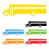 Scuolabus di vettore Fotografie Stock