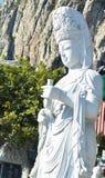 Scupture de Bouddha de yin de Quan images libres de droits