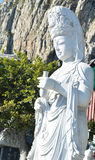 Scupture di Buddha del yin di Quan Immagini Stock Libere da Diritti
