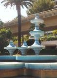 Scupture sztuki praca płytki na fontannie w parkowym Monte, Carlo - Monac zdjęcia royalty free